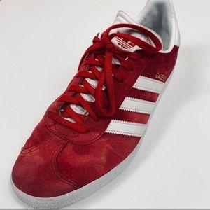 Adidas Gazelle Red Suede